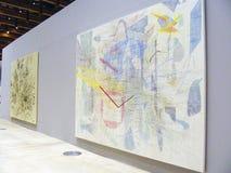 5ème Moscou Biennale d'art contemporain Images stock