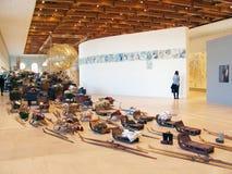 5ème Moscou Biennale d'art contemporain Photo stock