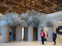 5ème Moscou Biennale d'art contemporain Photos stock