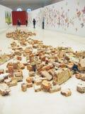 5ème Moscou Biennale d'art contemporain Image libre de droits