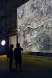 6ème Moscou Biennale d'art contemporain Image stock