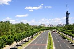 5ème nord de rocade de Pékin Image stock
