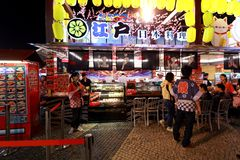 13ème nourriture 2013 juste de Macao Photos stock