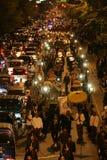 21ème nuit de la tradition de Ramadan Photographie stock libre de droits