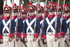 6ème période de Saboya de régiment d'infanterie habillée Photographie stock libre de droits