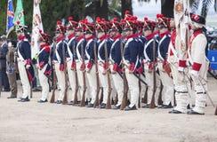 6ème période de Saboya de régiment d'infanterie habillée Images stock