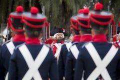 6ème période de Saboya de régiment d'infanterie habillée Photos libres de droits