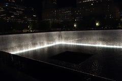 9/11 13ème point zéro 44 d'anniversaire @ Image stock