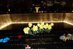 9/11 13ème point zéro 22 d'anniversaire @ Images libres de droits