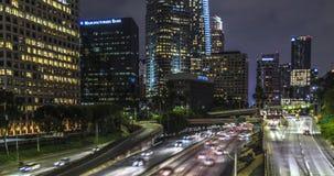 4ème pont du centre en St de Los Angeles banque de vidéos