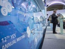 12ème réunion annuelle de stratégie européenne de Yalta (OUI) Images libres de droits