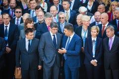 12ème réunion annuelle de stratégie européenne de Yalta (OUI) Photographie stock libre de droits