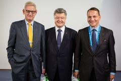 12ème réunion annuelle de stratégie européenne de Yalta (OUI) Photo libre de droits