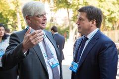 12ème réunion annuelle de stratégie européenne de Yalta (OUI) Photos stock