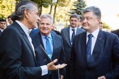 12ème réunion annuelle de stratégie européenne de Yalta (OUI) Images stock