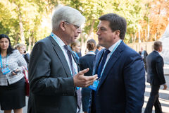 12ème réunion annuelle de stratégie européenne de Yalta (OUI) Image stock