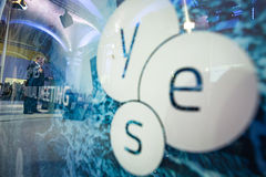 13ème réunion annuelle de stratégie européenne de Yalta (OUI) Image stock