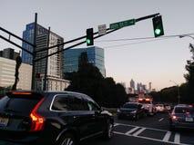 10ème rue d'Atlanta la Géorgie Image stock