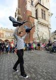 30ème rue - festival international des théâtres de rue à Cracovie, Pologne photos stock