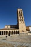 12ème siècle d'église du ` s de St Stephen, Ségovie Images stock