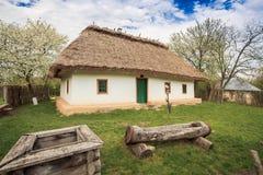 19ème siècle de maison de l'Ukraine Images stock