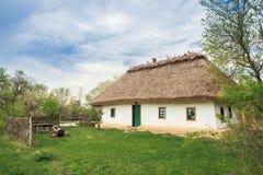 19ème siècle de maison de l'Ukraine Image stock