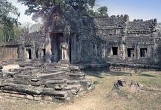 12ème siècle de Preah Khan Temple dans Angkor Vat, Siem Reap, Cambodge Photos libres de droits