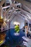 13ème siècle souterrain de mine de sel de Wieliczka, une des mines de sel les plus anciennes du ` s du monde, près de Cracovie, l Image stock