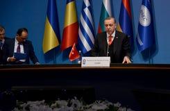 25ème sommet d'anniversaire de la coopération économique BSEC de la Mer Noire Photo stock