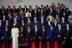 16ème sommet de Francophonie à Antananarivo Photographie stock libre de droits