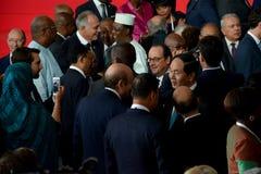 16ème sommet de Francophonie à Antananarivo Images libres de droits