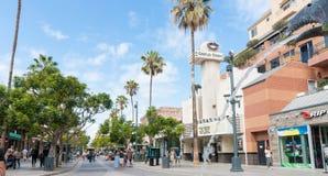 3ème St PromenadeSanta Monica, Photographie stock libre de droits