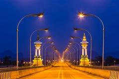 3ème thaïlandais - pont laotien d'amitié chez Nakhon Phanom Thaïlande Images libres de droits