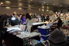 23ème Toronto annuel Jem et exposition minérale Images stock