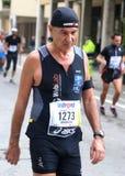 28ème Venicemarathon : le côté amateur Image libre de droits