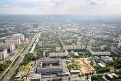 15èmes et 16èmes secteurs de secteur d'Ostankino Image stock
