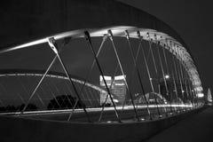 7èmes scènes occidentales de nuit de pont en rue Photographie stock libre de droits