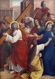 4èmes stations de la croix Photos libres de droits