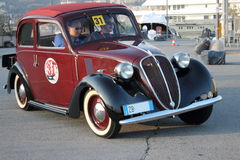 8èmes voitures historiques de Gênes de circuit marin Photographie stock
