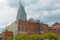 1ère avenue historique, Nashville, Tennessee, Etats-Unis Photos stock