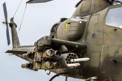 Ère du Vietnam d'hélicoptère d'Apache photographie stock libre de droits