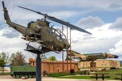 Ère du Vietnam d'hélicoptère d'Apache images stock