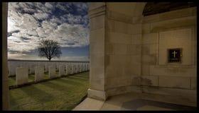 1ère guerre mondiale d'Ieper Belgique cementry Photographie stock