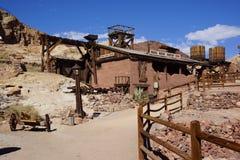 遗产公园在死亡谷 库存图片