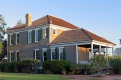 遗产公园的一个老房子 库存图片