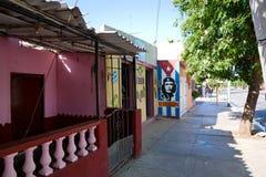 革命庆祝墙壁油漆 免版税库存照片