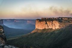 风景,Chapada迪亚曼蒂纳,巴伊亚,巴西 库存照片