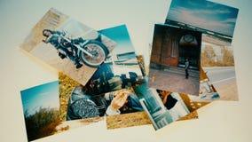 飞行很多的图片,记忆照片,社会媒介概念 影视素材