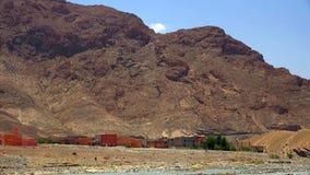 马拉喀什和老麦地那,摩洛哥全景  库存图片