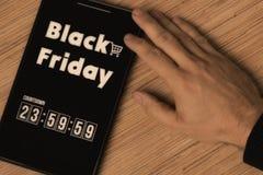 黑色星期五 免版税库存图片